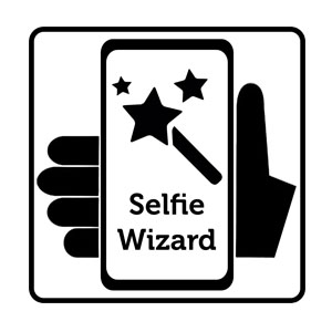 selfie wizard at the photo booth show